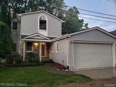 Harrison Twp Single Family Home For Sale: 35780 Stoerkel St