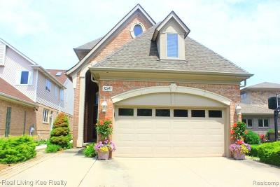 Harrison Twp Single Family Home For Sale: 32697 North River Rd
