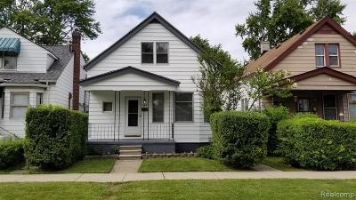 Hazel Park Single Family Home For Sale: 158 W George Ave