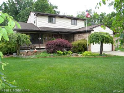 Westland Single Family Home For Sale: 34145 Cowan Rd