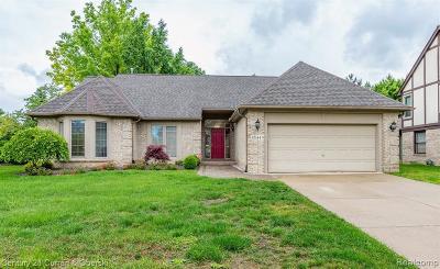 Canton Single Family Home For Sale: 45144 Danbury Rd