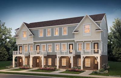 Auburn Hills Condo/Townhouse For Sale: 3323 N Squirrel Court Crt N