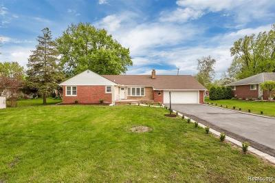 Clinton Township Single Family Home For Sale: 17304 Penrod Dr