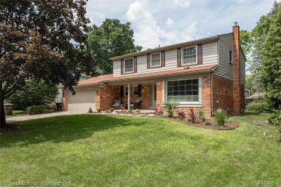 Northville Single Family Home For Sale: 41632 Elk Rd
