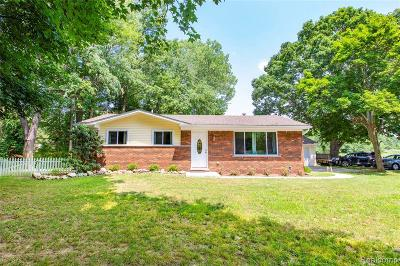 Algonac Single Family Home For Sale: 6520 Swartout Rd Rd