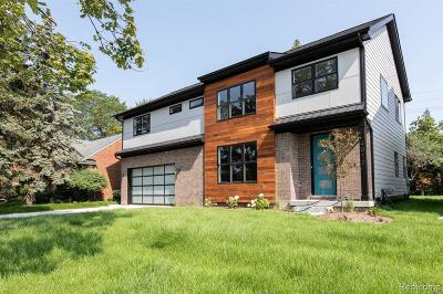 Royal Oak Single Family Home For Sale: 4012 Amherst Rd
