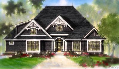Clarkston Single Family Home For Sale: 7501 Maple Ridge Dr