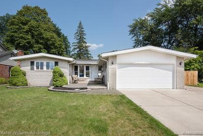 Dearborn Heights Single Family Home For Sale: 1032 N Charlesworth St