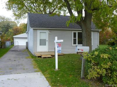 Taylor Single Family Home For Sale: 7267 Gulley St