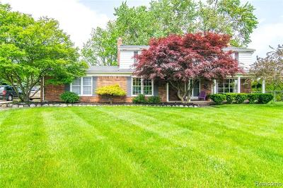 Shelby Twp Single Family Home For Sale: 4959 Dusk Dr