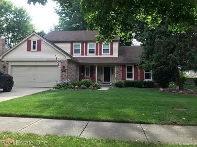 Troy Single Family Home For Sale: 5383 Cloister Dr
