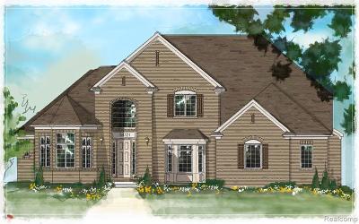 Utica Single Family Home For Sale: 3632 Forster Lane
