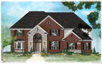 Utica Single Family Home For Sale: 3708 Forster Lane