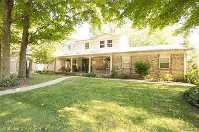 Troy Single Family Home For Sale: 2638 Ronald Dr