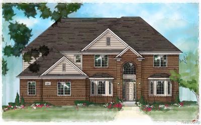 Utica Single Family Home For Sale: 3623 Forster Lane