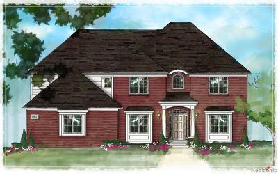 Utica Single Family Home For Sale: 3767 Forster Lane