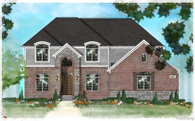 Utica Single Family Home For Sale: 3695 Forster Lane