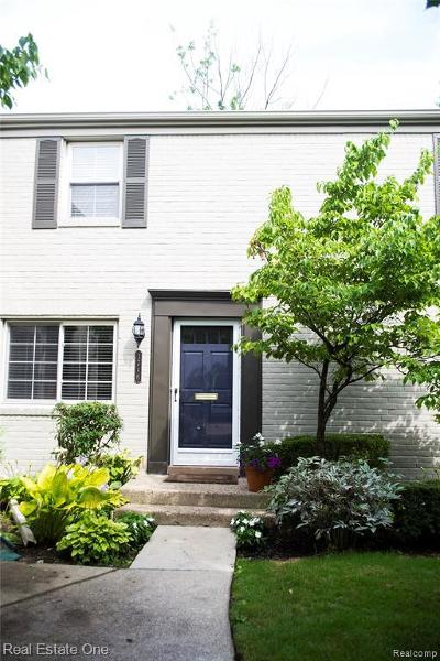 Birmingham Condo/Townhouse For Sale: 1716 Graefield Rd