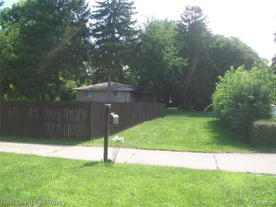 Warren Residential Lots & Land For Sale: 3743 Dallas Ave