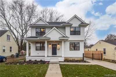 Royal Oak Single Family Home For Sale: 613 Golf Ave