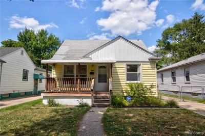 Hazel Park Single Family Home For Sale: 329 E Goulson Ave