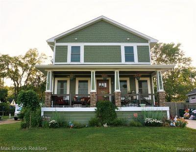 Royal Oak Single Family Home For Sale: 4503 Hampton Blvd
