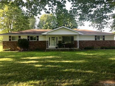 Single Family Home For Sale: 6838 Swartout Rd