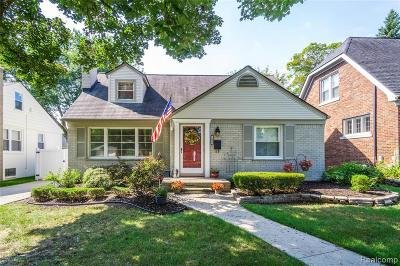 Royal Oak Single Family Home For Sale: 1603 Sycamore Ave