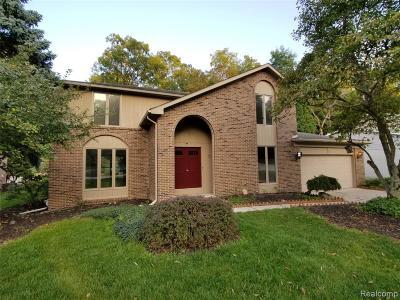 Rochester Hills Single Family Home For Sale: 804 Medinah Dr