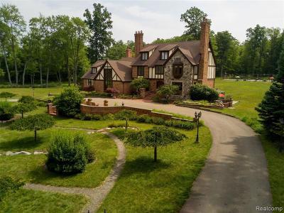 Clarkston Single Family Home For Sale: 10200 Bridge Lake Rd
