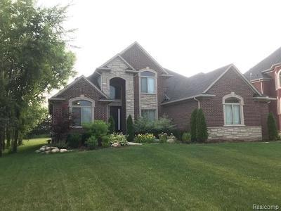 Utica Single Family Home For Sale: 53053 Pondview