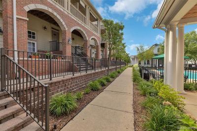 Auburn Hills Condo/Townhouse For Sale: 190 Amys Walk