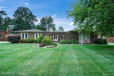 Bloomfield Hills Single Family Home For Sale: 1840 Brookview Cir