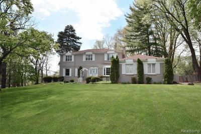 Bloomfield Hills Single Family Home For Sale: 498 Dunston Rd