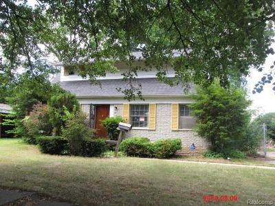 Flint Single Family Home For Sale: 6813 Sally Crt