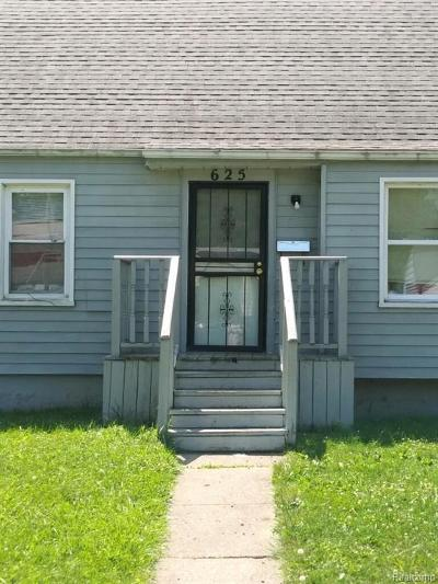 Flint Single Family Home For Sale: 625 W Marengo Ave