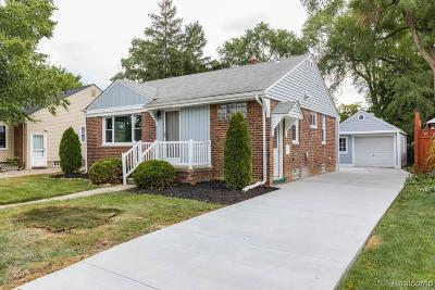 Royal Oak Single Family Home For Sale: 4416 Cooper Ave