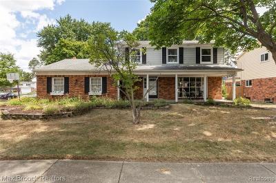 Troy Single Family Home For Sale: 3672 Carmel Dr