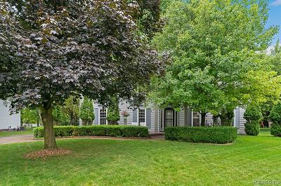 Rochester Hills Single Family Home For Sale: 1212 Whispering Knoll Ln