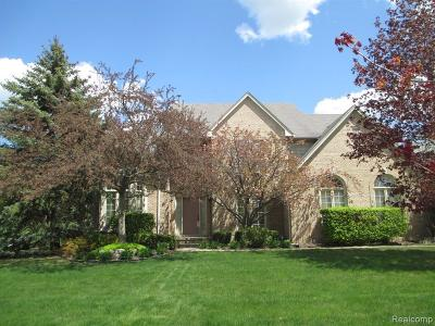 Troy Single Family Home For Sale: 6780 Woodcrest Dr