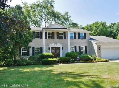 Troy Single Family Home For Sale: 4085 Wentworth Dr