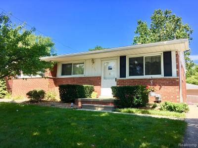 Royal Oak Single Family Home For Sale: 1412 Hickory Ave