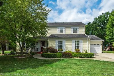 Rochester Hills Single Family Home For Sale: 1179 Barneswood Ln