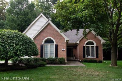 Rochester Hills Condo/Townhouse For Sale: 1070 Bluebird Dr