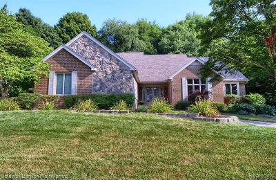 Plymouth Single Family Home For Sale: 48940 Pinehill Dr