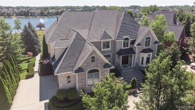 Northville Single Family Home For Sale: 17900 Parkshore Dr