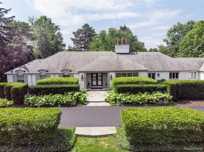 Bloomfield Hills Single Family Home For Sale: 191 Marblehead Dr