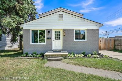 Berkley Single Family Home For Sale: 1798 Gardner Ave