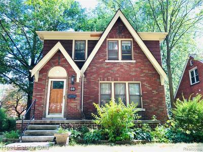 Pleasant Ridge Single Family Home For Sale: 56 Devonshire Rd