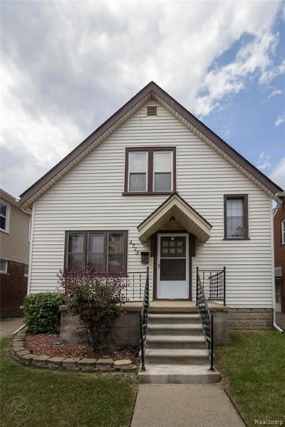 Dearborn Single Family Home For Sale: 4773 Palmer St